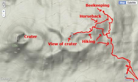 El Ojochal hiking, horseback riding, beekeeping and more