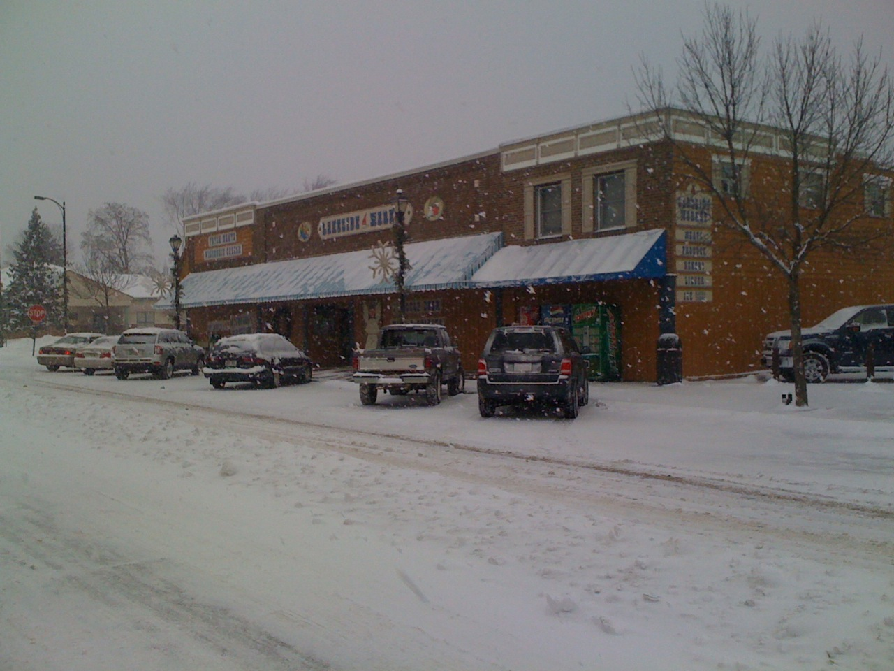 The town grocery store on main street